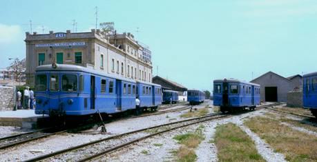 Estacion de Alicante , Mayo 1978,
