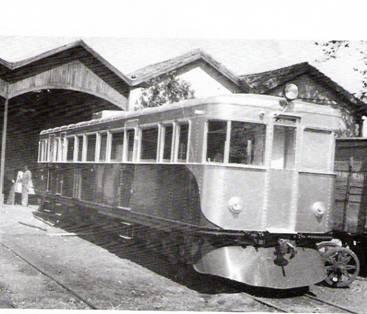 Automotor construido por Mariano del Corral,