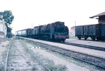 Novelda - Aspe , Locomotora