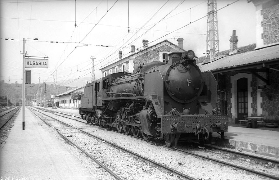 Alsasua, locomotora