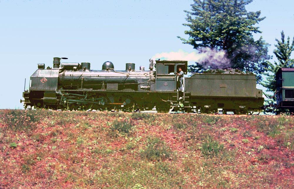 locomotora 184 , tunecina Pacific