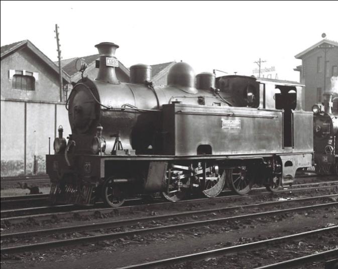Locomotora Borsig nº 27 ,rodaje 131T Foto : © John Carter