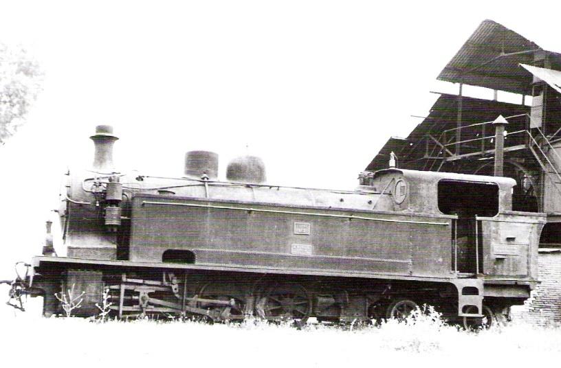 "Locomotora Borsig, nº 3 ""Zufre"" , foto Trevor Rowe"