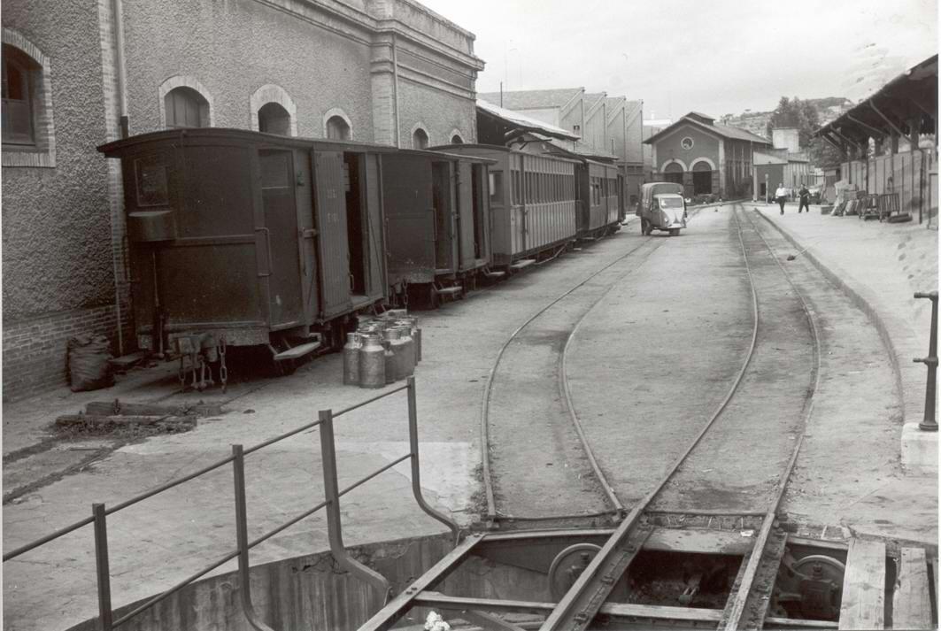 Estacion de Sant Feliu de Guixoils, 29.08.1963,