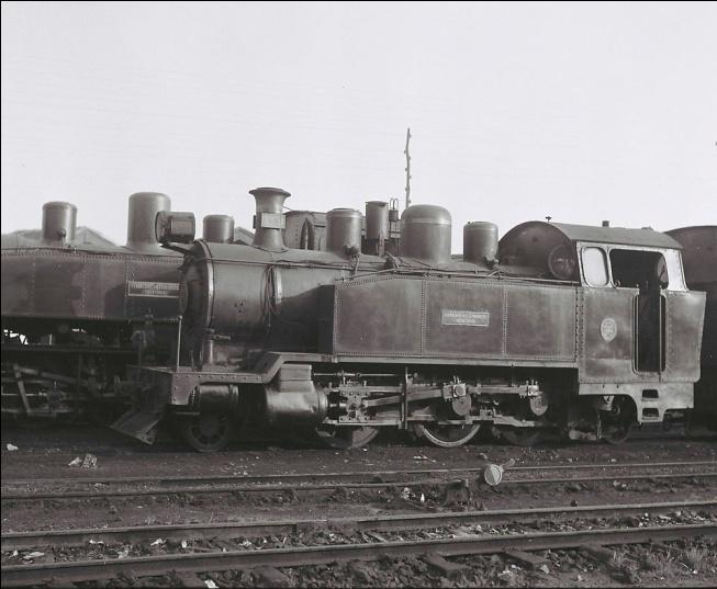 Locomotora nº 31 Baldwin, rodaje 131T Foto : © John Carter