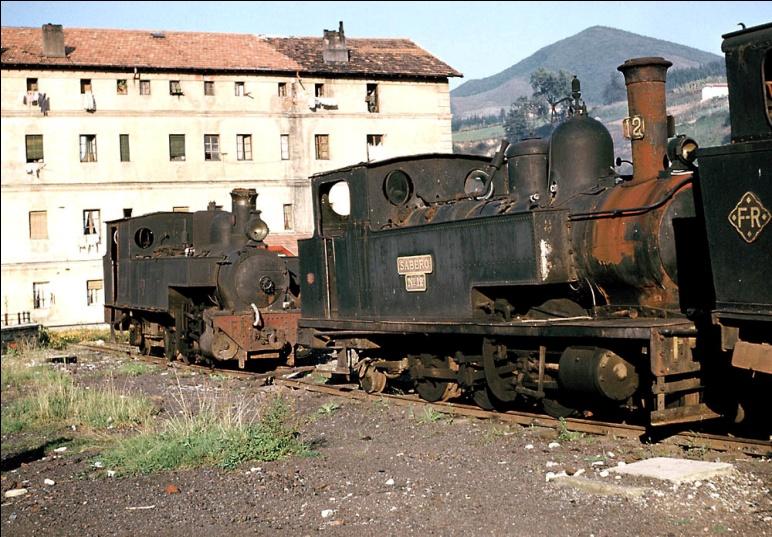 "Locomotora nº 12 ""Sabero"""