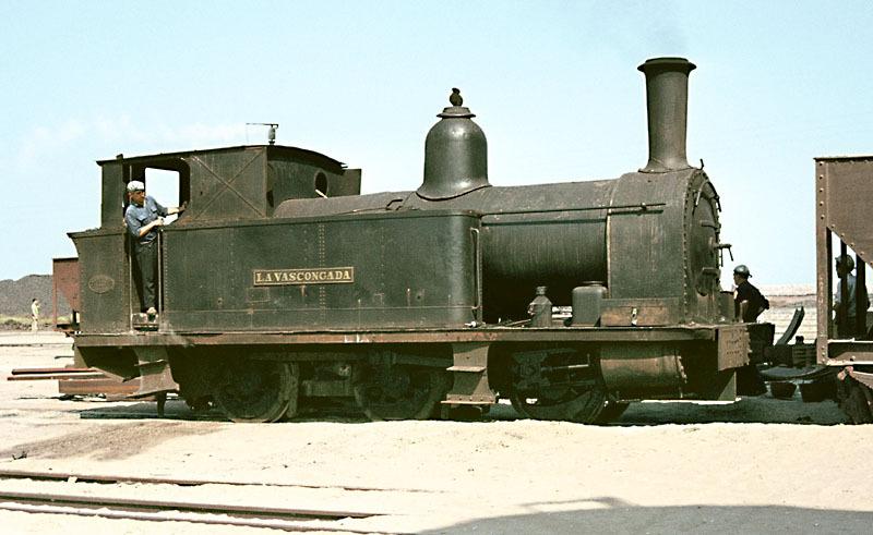 "Locomotora Avonside nº 205 ""La Vascongada"""