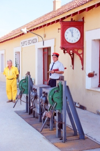 Estacion de Puerto Escandon, foto Juan Peris Torner