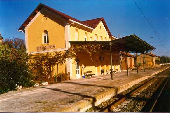 Estacion de Marcilla,