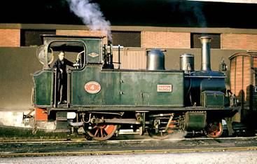 Locomotora Nansa n º 4 ,