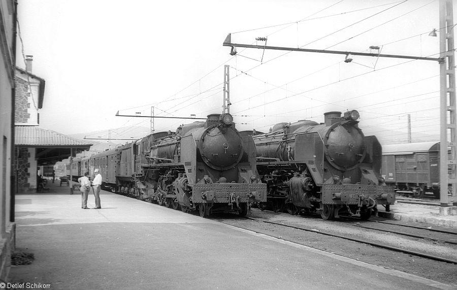 deposito de Castejón, locomotoras: