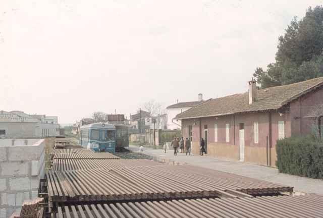 Estacion de la Puebla, abril 1972