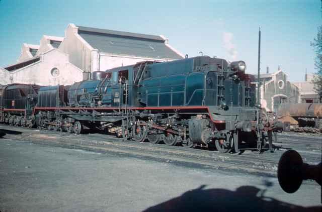 Valencia Alameda, locomotora Garrat