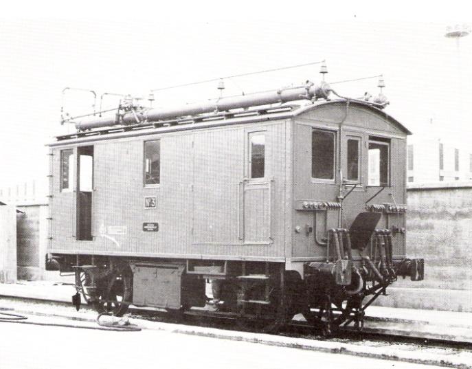 Locomotora nº 3 de la serie 1 a la 7