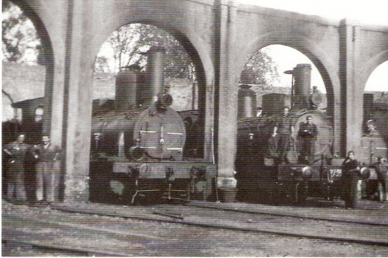 Deposito de locomotoras, foto: Jordi Marqués