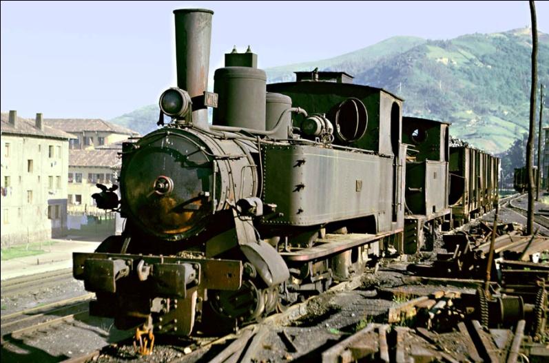 Locomotora nº 12, vendida a la Fábrica de Mieres,