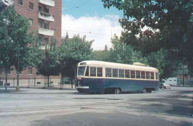 Tranvia 1103, mayo 1970