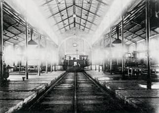 Cocheron de locomotoras