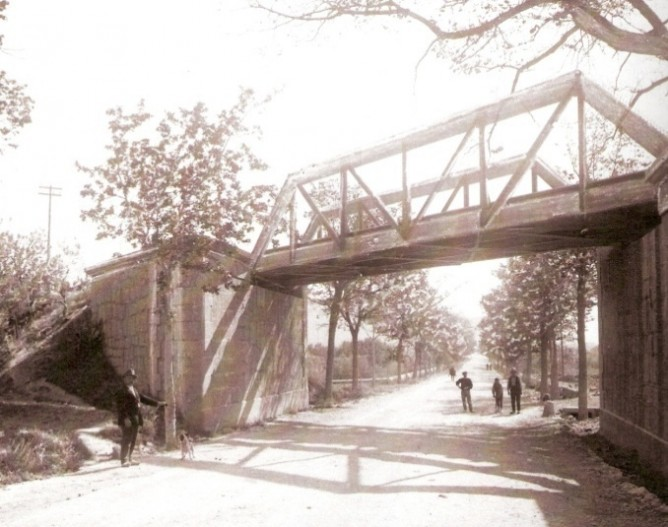 Benicasim, Puente de Santa Rita