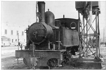Locomotora Tubize, nº 21, fondo : Javier Aranguren Meledo