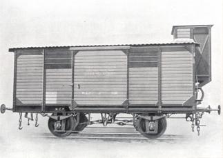 Vagon con garita