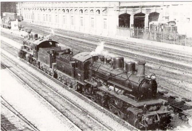 Maniobras en la estación de Valencia