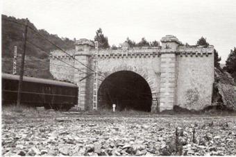 Pradell, Tunel de la Argentera, Foto Perez de Val