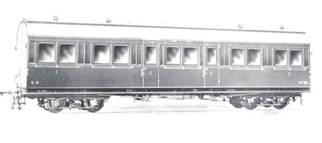 Económicos de Asturias – coche viajeros 1ª clase Foto album CAF de Beasain