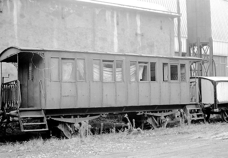 Hulleras de Turon, coche de viajeros