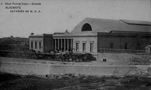 Estacion de Alicante , Postal Comercial