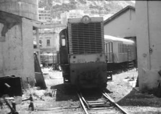 Locomotora, junio 1980, en Alicante , Foto Juan Peris Torner