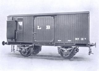 furgón, de dos ejes, fondo CAF de Beasain
