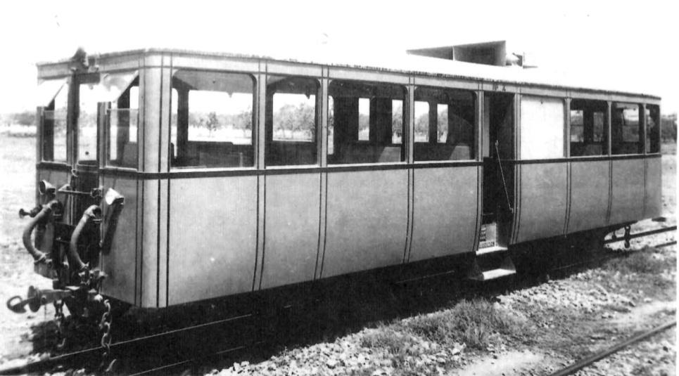 automotor Dion Buton, foto: Libro de Oro de MZA año 1936