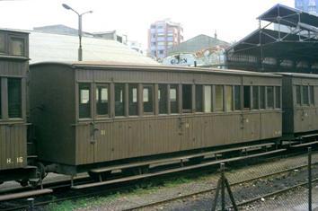 coche de 3ª clase H-42