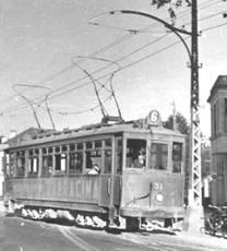 Tranvia serie 300 ( 301 al 307) Ex Coruña a Sada,