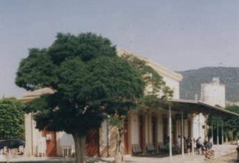 Estacion de Jaca en 1992, foto Juan Manero