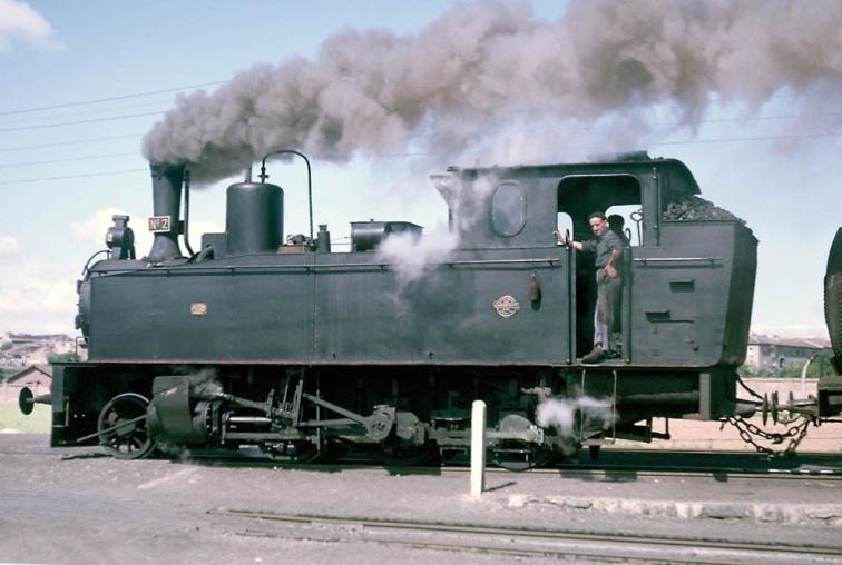 "Locomotora nº 2 ""Zaragoza"""