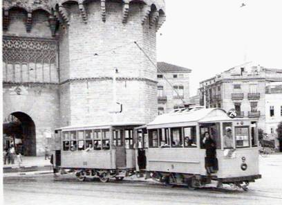 Tranvia Charleroi nº 9 en Torres de Serranos