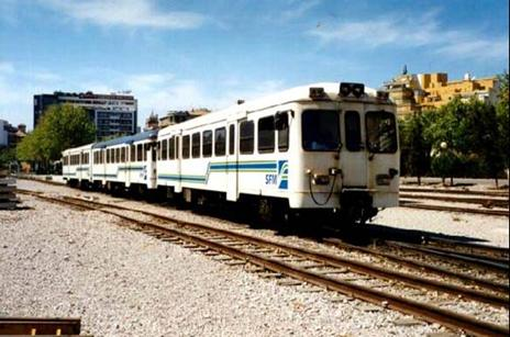 automotor MAN , de Servicios Ferroviarios de Mallorca,