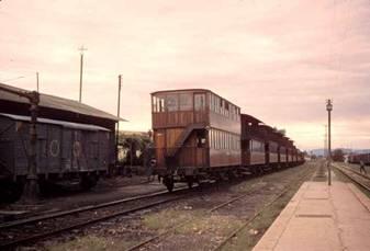 Tren de coches imperiales