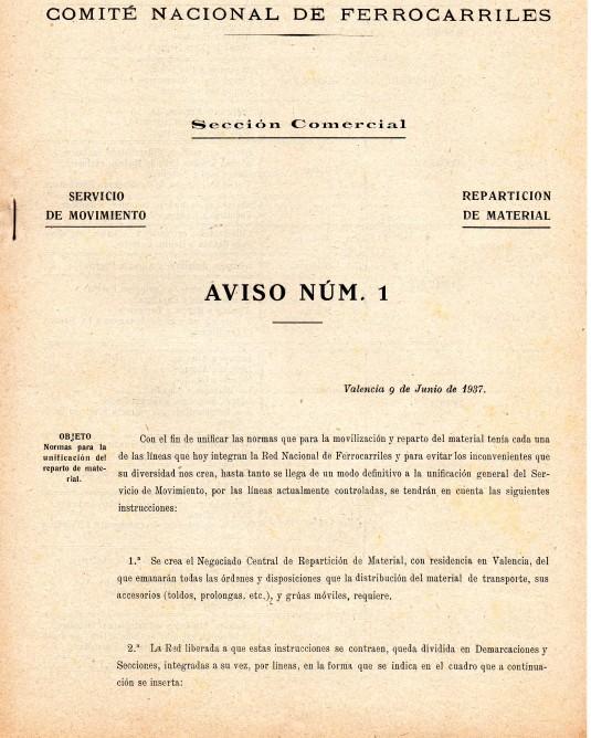 Documento de la RNF