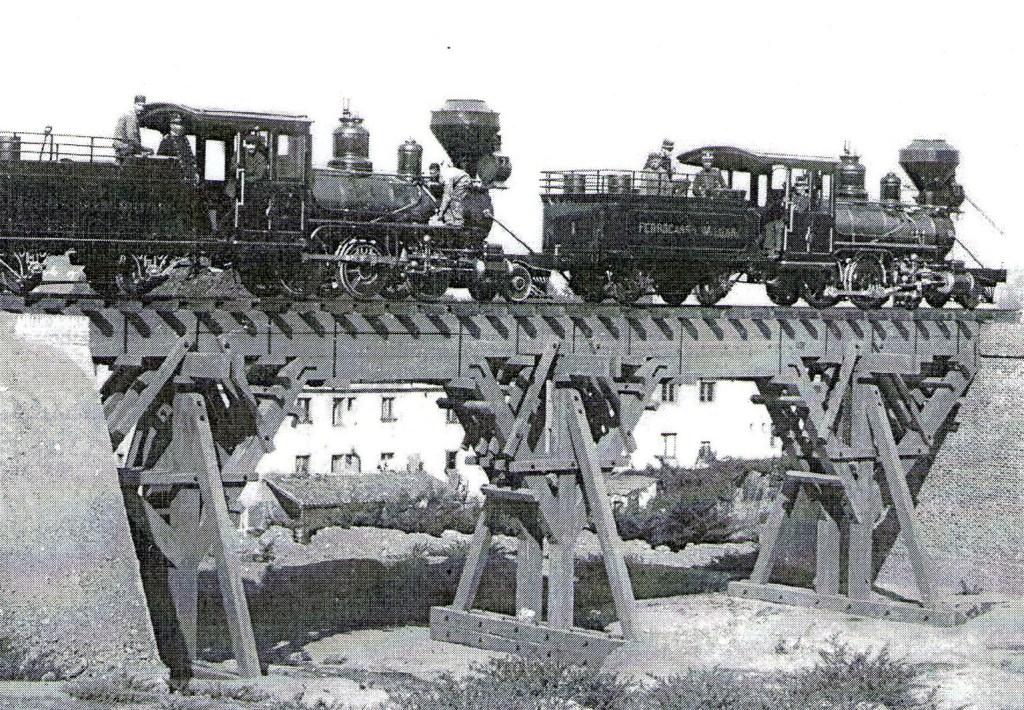 locomotoras en el Cuartel de la Montaña, Material repatriado de la Isla de C