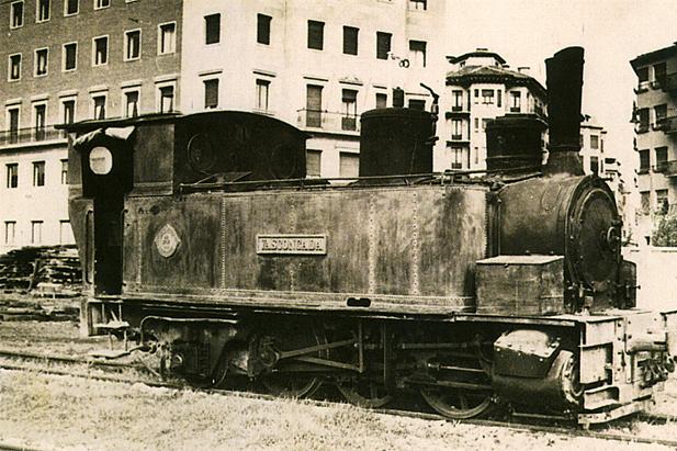 Ferrocarril del Irati , Locomotora 031T La vascongada, archivo APG