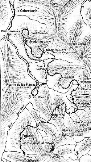 Itinerio del puerto de Pajares