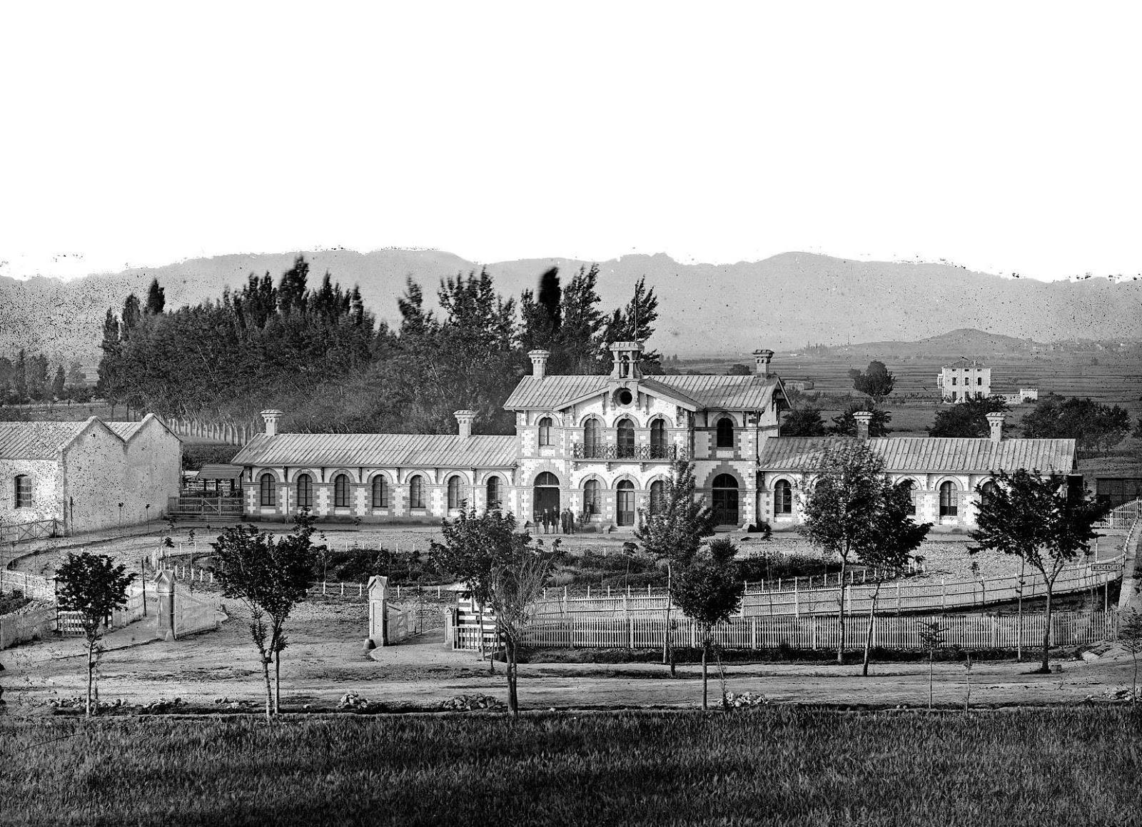 primitiva estacion de Logroño , foto Patrimonio Historico, Ministerio de Cultura