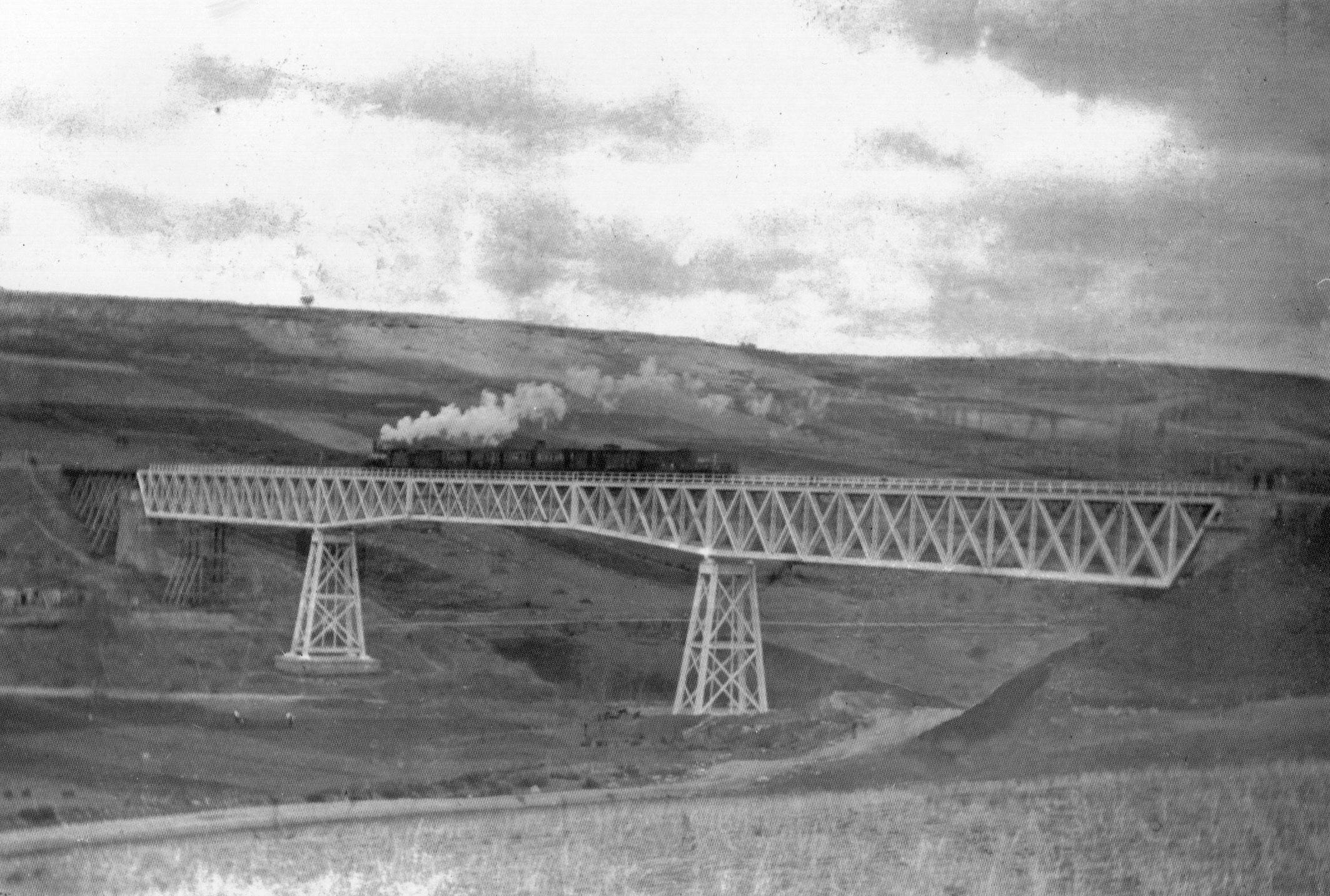 Puente grande de Gor, línea de Baza a Guadix , Fondo JJO
