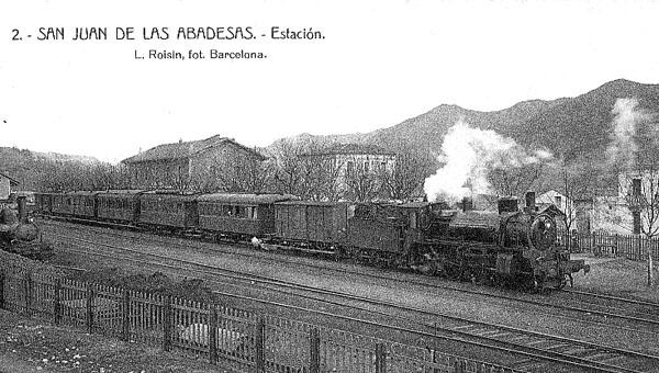 tren en San Juan de las Abadesas
